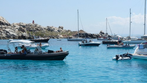 Lavezzi Islands in Corsica